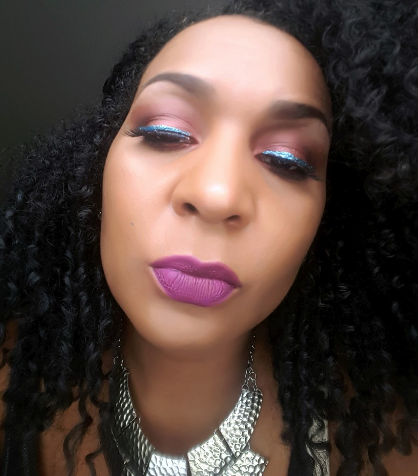 MOTD:  Anastasia Beverly Hills Shadow Couture Palette Makeup Look With A Pop Of Color