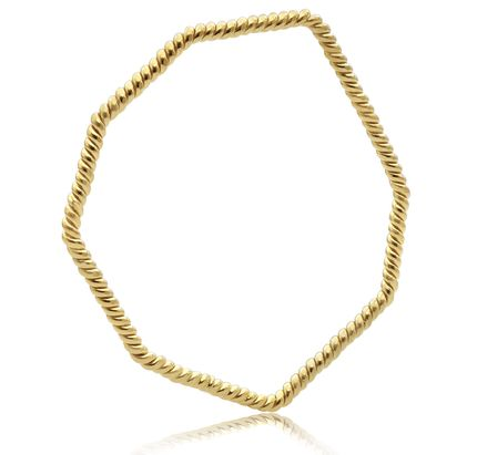 twisted-hex-stack-bangle-gold